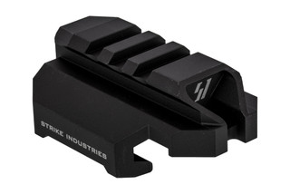 Strike Industries Scorpion Stock Adapter black anodized features a QD sling swivel slot