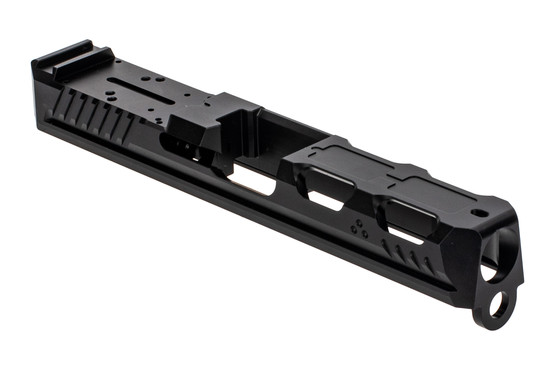 Strike Industries Glock 19 Ark Slide features a universal red dot mount