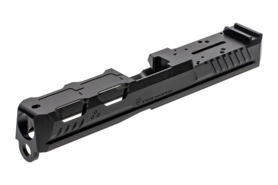 Strike Industries Ark Slide features a black Nitride finish