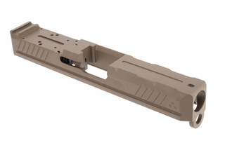 Strike Industries Glock 19 Lite Slide features a flat dark earth finish