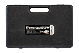 Strike Industries Gun Cleaning Brush Kit is compatible with a convenient tactical carry case.