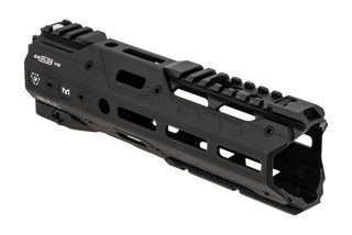 Strike Industries Gridlock Complete Handguard 8.5 features a black anodized finish