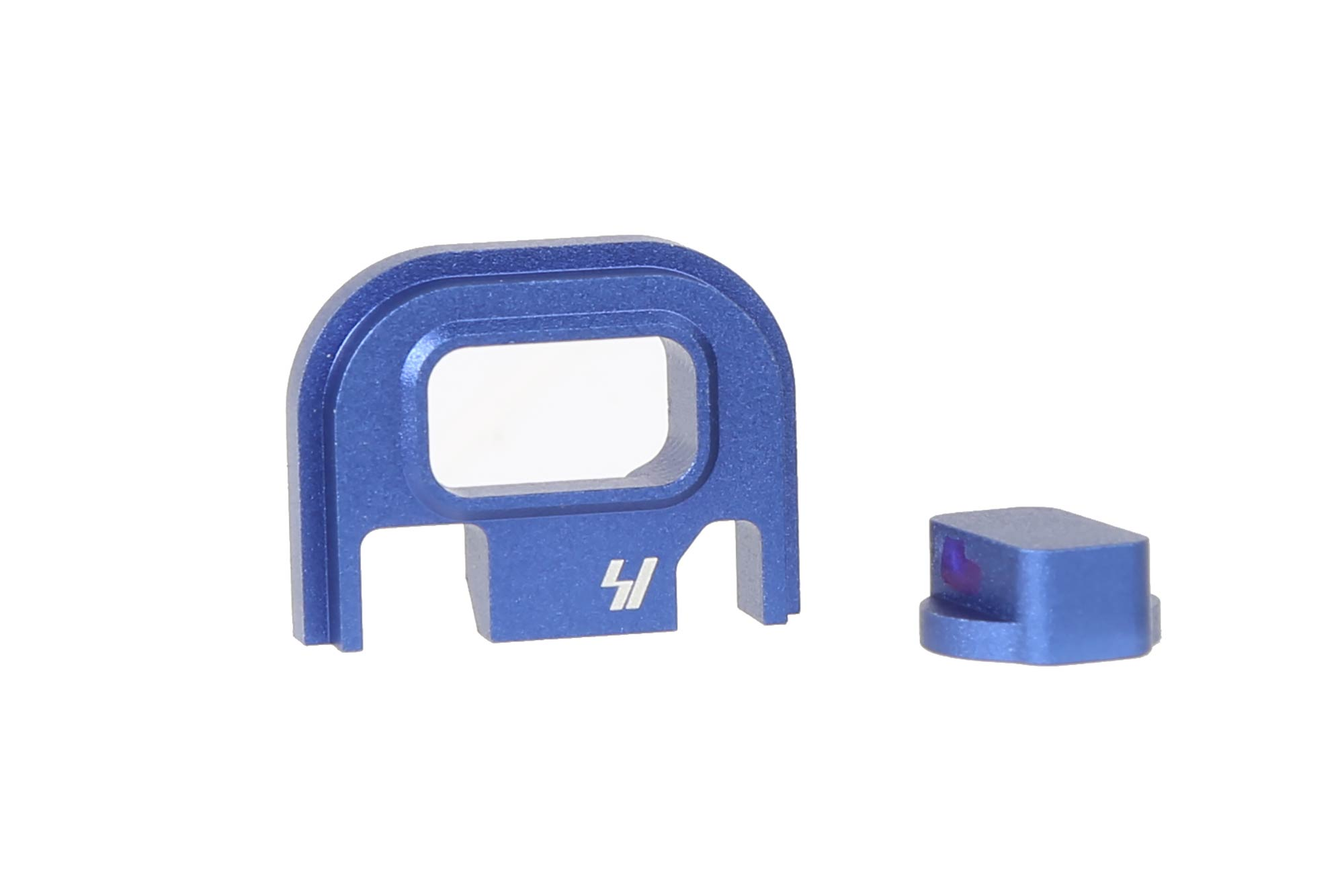 Strike Industries Slide Plate for Glock V1 - Blue