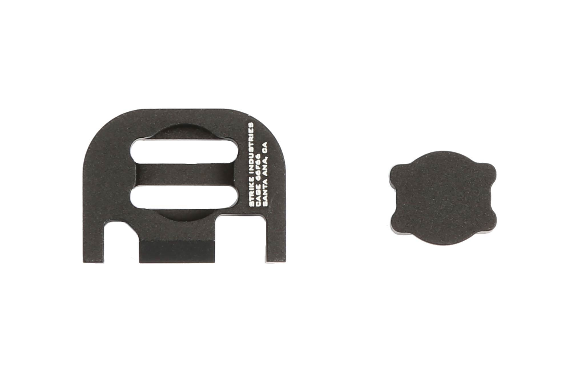 Strike Industries Slide Plate for Glock V2 - Black