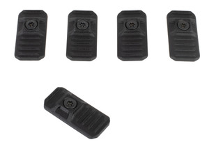 Strike Industries LINK rail covers are compatible with M-LOK and KeyMod handguards