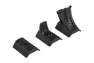 Strike Industries LINK 3-Piece handstop kit is a reinforced polymer compatible with M-LOK and KeyMod.