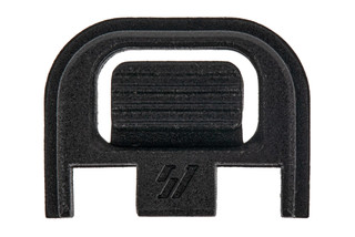 Strike Industries PolyFlex Glock slide cover back plate features an integrated button