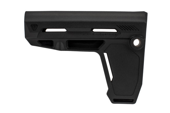 The Strike Industries Pistol Stabilizing Brace features ambidextrous QD sling swivel slots
