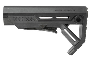 The Strike Industries Mod 1 AR15 carbine stock features a lightweight, durable design
