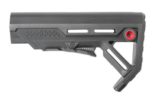 This buttstock from Strike Industries is the Viper Mod 1 Carbine Stock that fits on Mil-Spec buffer tubes