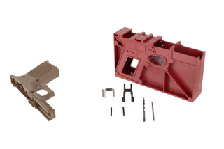Strike Industries Strike80 compact pistol frame kit comes in flat dark earth