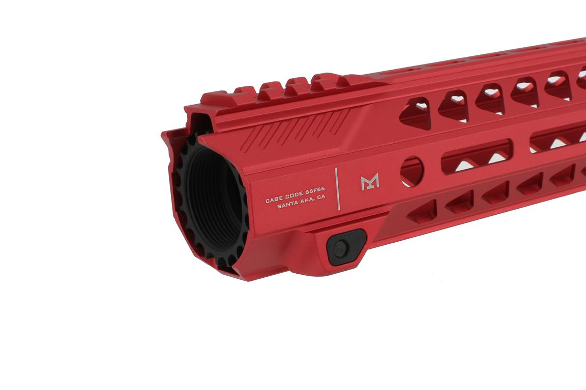 Strike Industries 17 Strike Rail M-LOK Handguard - Red