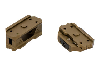 The Strike Industries Aimpoint T1 Micro Red Dot Riser Mount features a flat dark earth anodized finish