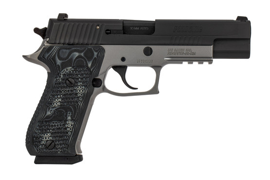 SIG Sauer P220 Elite is chambered in 10mm with a 5 inch barrel