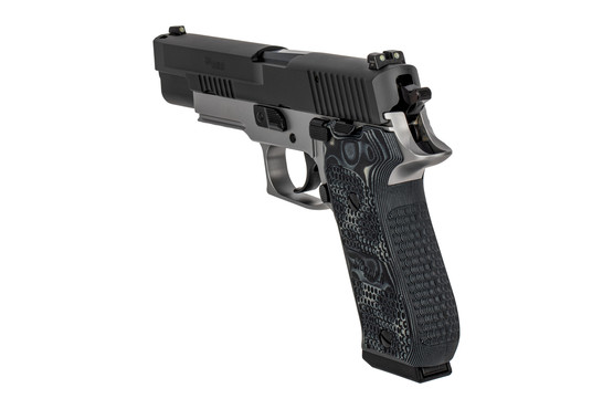 SIG P220 10mm Elite pistol comes with night sights and two 8 round mags