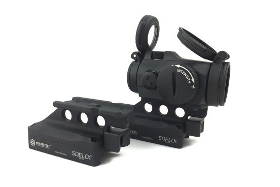 The Kinetic Development Group SIDELOK is a revolutionary new mounting system for optics