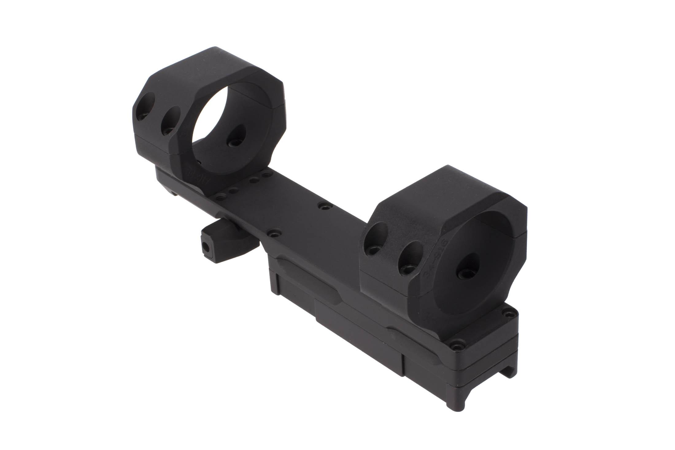 Kinetic Development Group 34mm SIDELOK Modular Optic Mount is precision wire EDM cut and CNC machined for concentricity