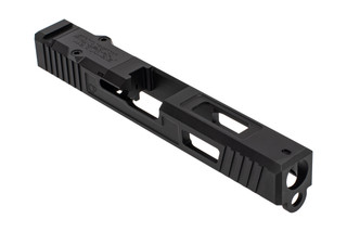The Primary Machine Glock 17 stripped slide features UCC V3 weight reducing cuts