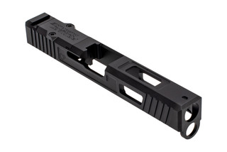 The Primary Machine Glock 17 slide gen 4 features the UCC V3 weight reducing cuts