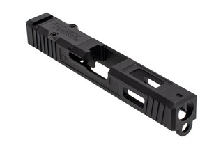 The Primary Machine Glock 19 optic ready slide features the UCC V3 window cuts