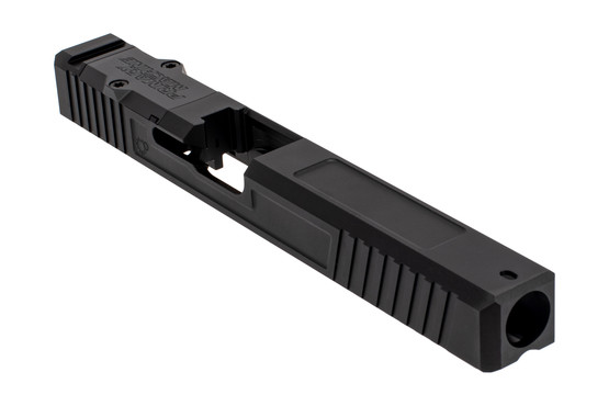 The Primary Machine Glock 34 Aftermarket Slide features the UCC V1 weight reducing cuts