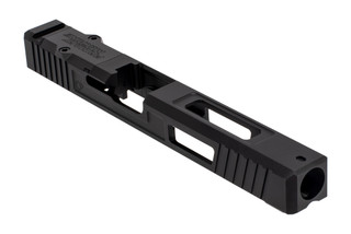The Primary Machine Glock 34 Slide Gen 3 features a black Nitride finish