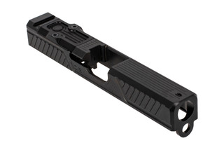 ZEV Technologies Citadel stripped slide with RMR cut for Glock 19 Gen3 handguns features a black finish