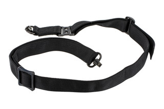 "Griffin Armament Switch Hitter Convertible rifle sling with black 1.5"" nylon webbing"