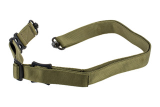 "Griffin Armament Switch Hitter Convertible rifle sling with ranger green 1.5"" nylon webbing"