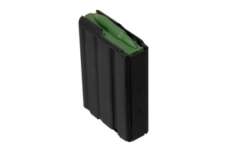 Troy Industries Aluminum AR15 magazine holds 10 rounds of 556 ammo