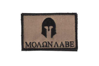SME Molan Labe morale Patch in flat dark earth
