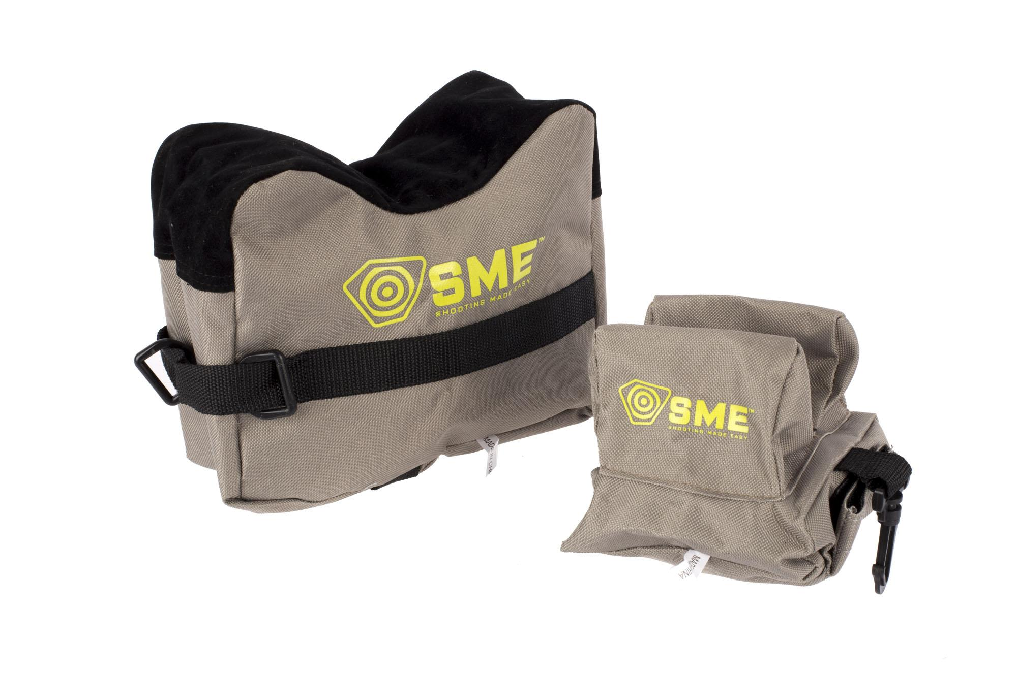 SME 2-Piece Shooting Bags - Unfilled Shooting Rests