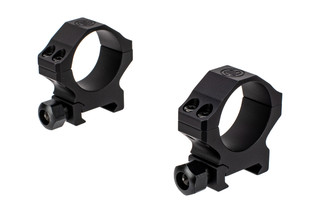 SIG Sauer ALPHA1 30mm Scope Rings with Medium Profile are constructed of 6061-T6 aluminum