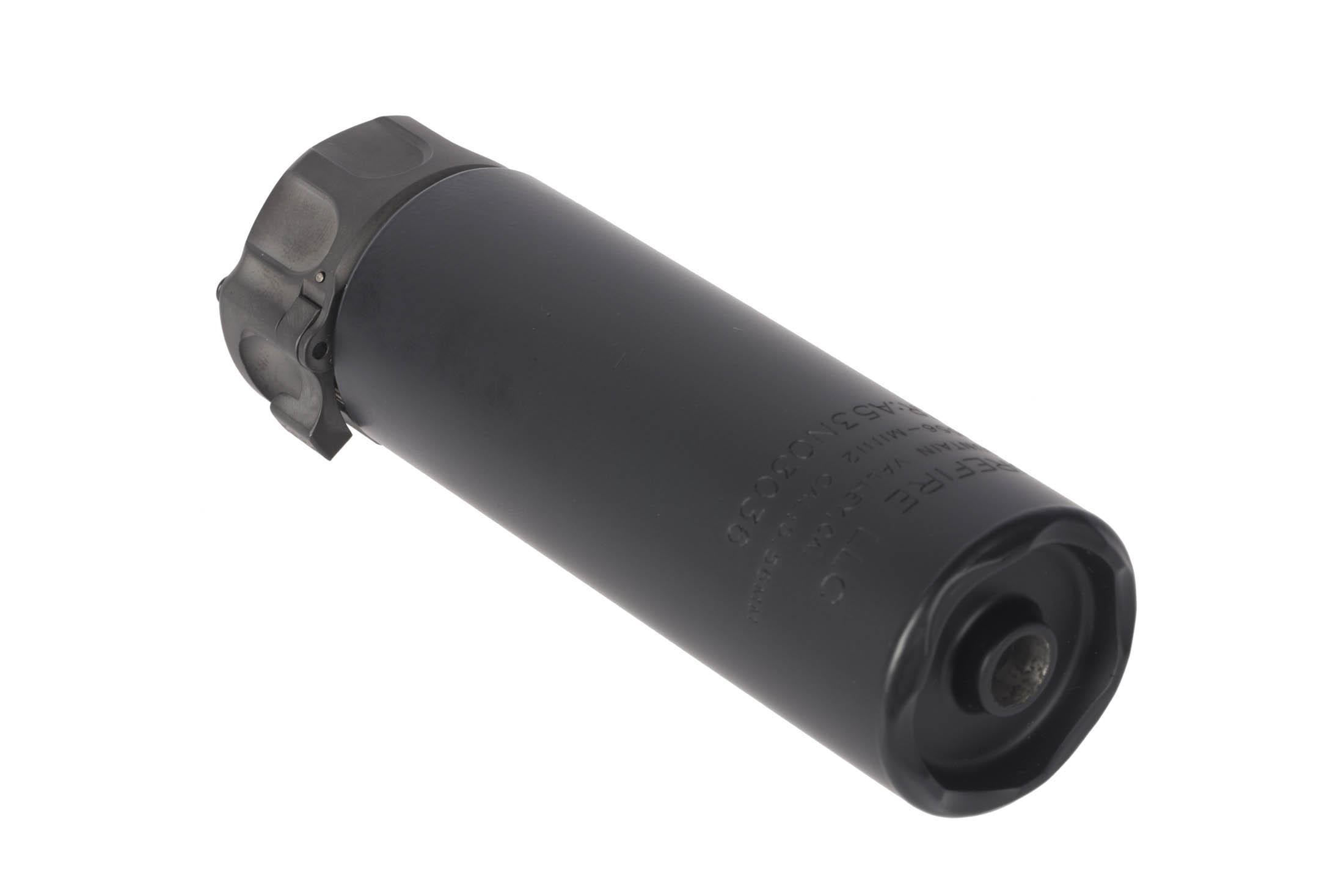 SureFire SOCOM 2 Mini 5.56 Sound Suppressor with black Cerakote finish