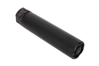 SureFire's black SOCOM 7.62 MINI2 Compact Fast Attach Rifle Silencer with cerakote finish