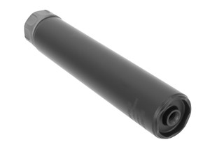 SureFire SOCOM 762 Titanium Suppressor features a black Cerakote finish