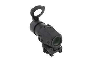 SIG Sauer Juliet 3 magnifier features a quick-release Power Cam flip-to-side mount is a standalone 3x magnifier