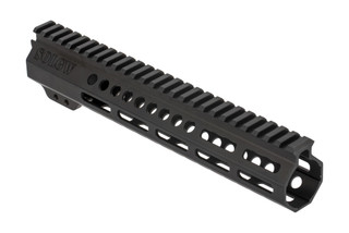 Sons of Liberty Gun Works Exo2 AR-15 handguard is 10.5in long, fully freefloated, and accepts M-LOK accessories