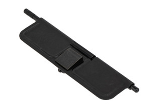 Sons of Liberty Gun Works MIL-SPEC AR-15 ejection door cover kit with stamped steel door, c-clip, pin, and spring.