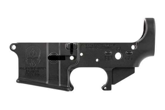 The SOLGW soul snatcher AR15 lower receiver is compatible with Mil-Spec parts
