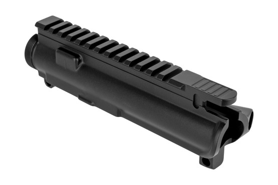 SOLGW M4 style stripped Ar15 upper receiver features a high quality hardcoat anodized finish