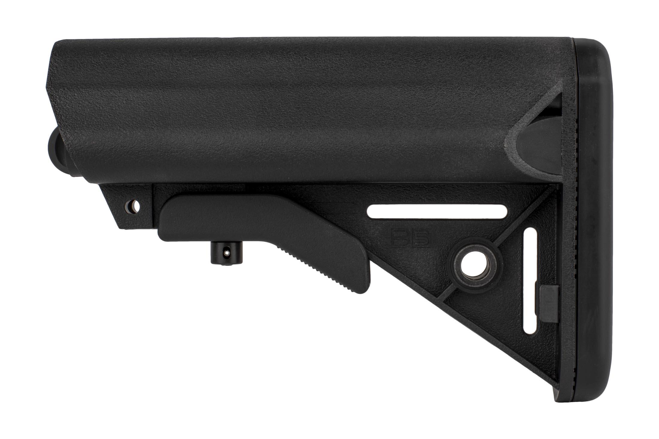 B5 Systems SOPMOD AR-15 Polymer Stock with Quick Detach Mount MIL-SPEC - Black