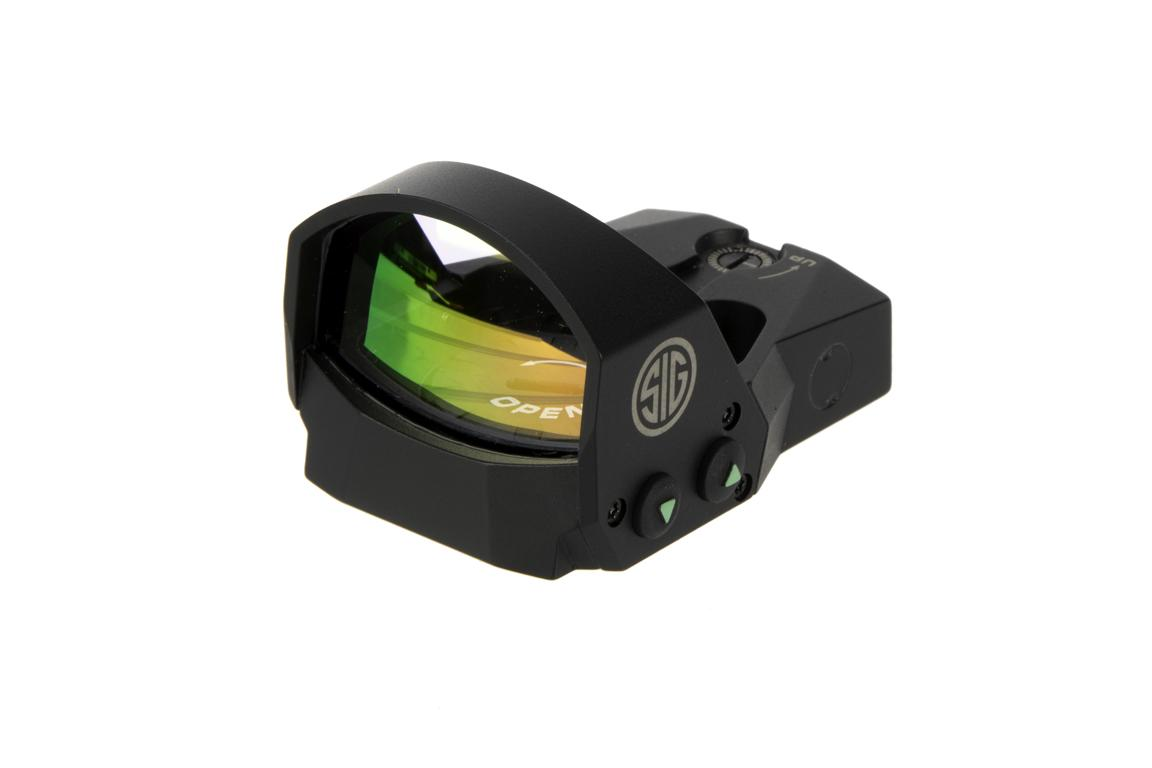 The Sig Sauer Romeo1 mini red dot sight features motion activated illumination