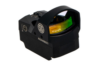 SIG Sauer ROMEO1 mini reflex sight comes with a picatinny mount