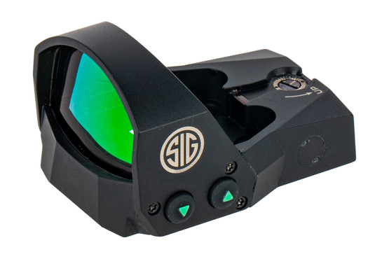 SIG Romeo 3 MOA red dot sight features a CNC machined Magnesium housing