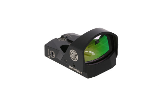 Red Dot Sight for ar15 by sig sauer features 6 moa illuminated dot
