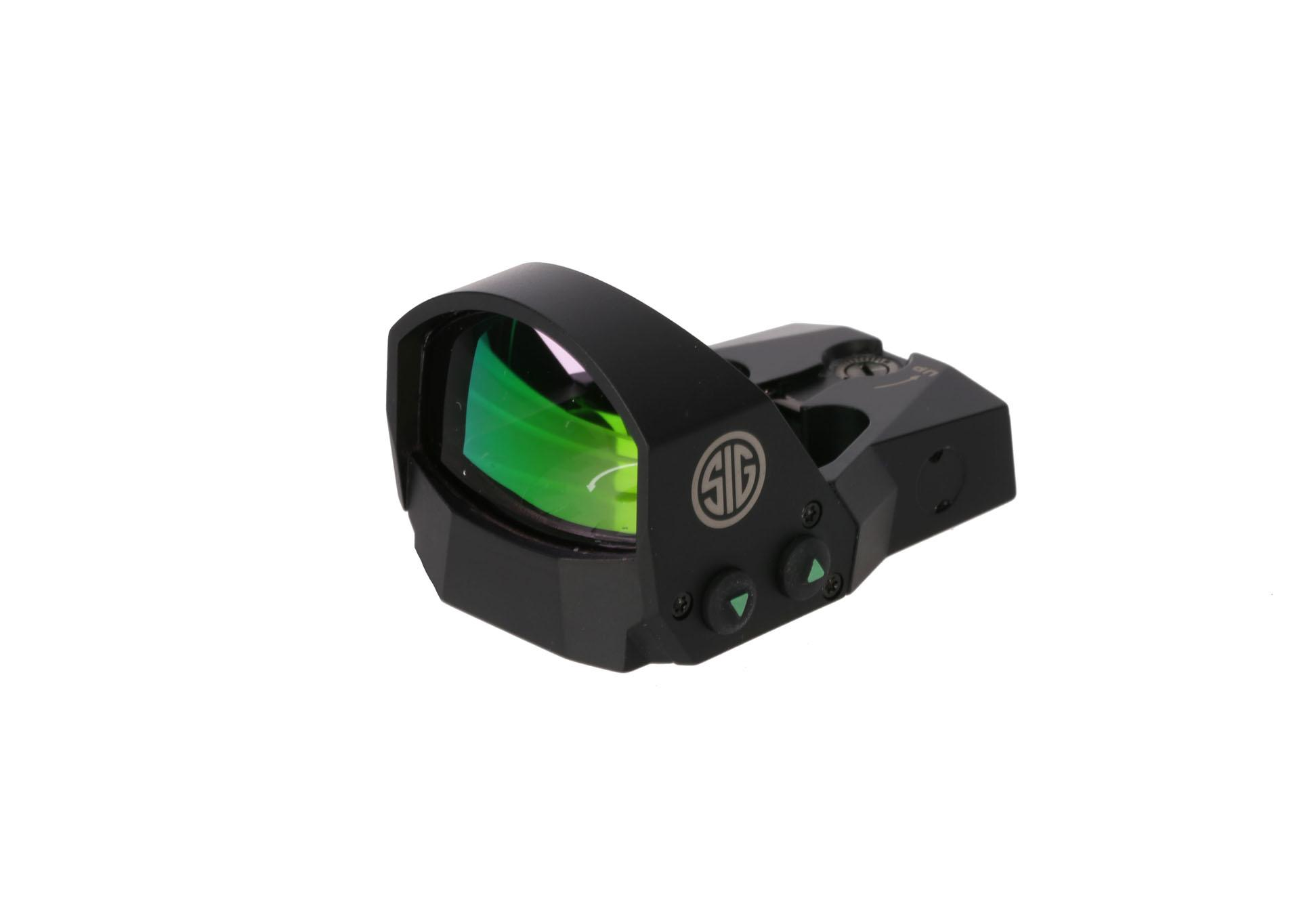 The sig sauer reflex sight is night vision compatible