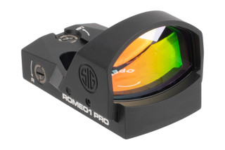 SIG Sauer ROMEO1 Pro Reflex Sight 1x30mm features durable CNC aluminum housing