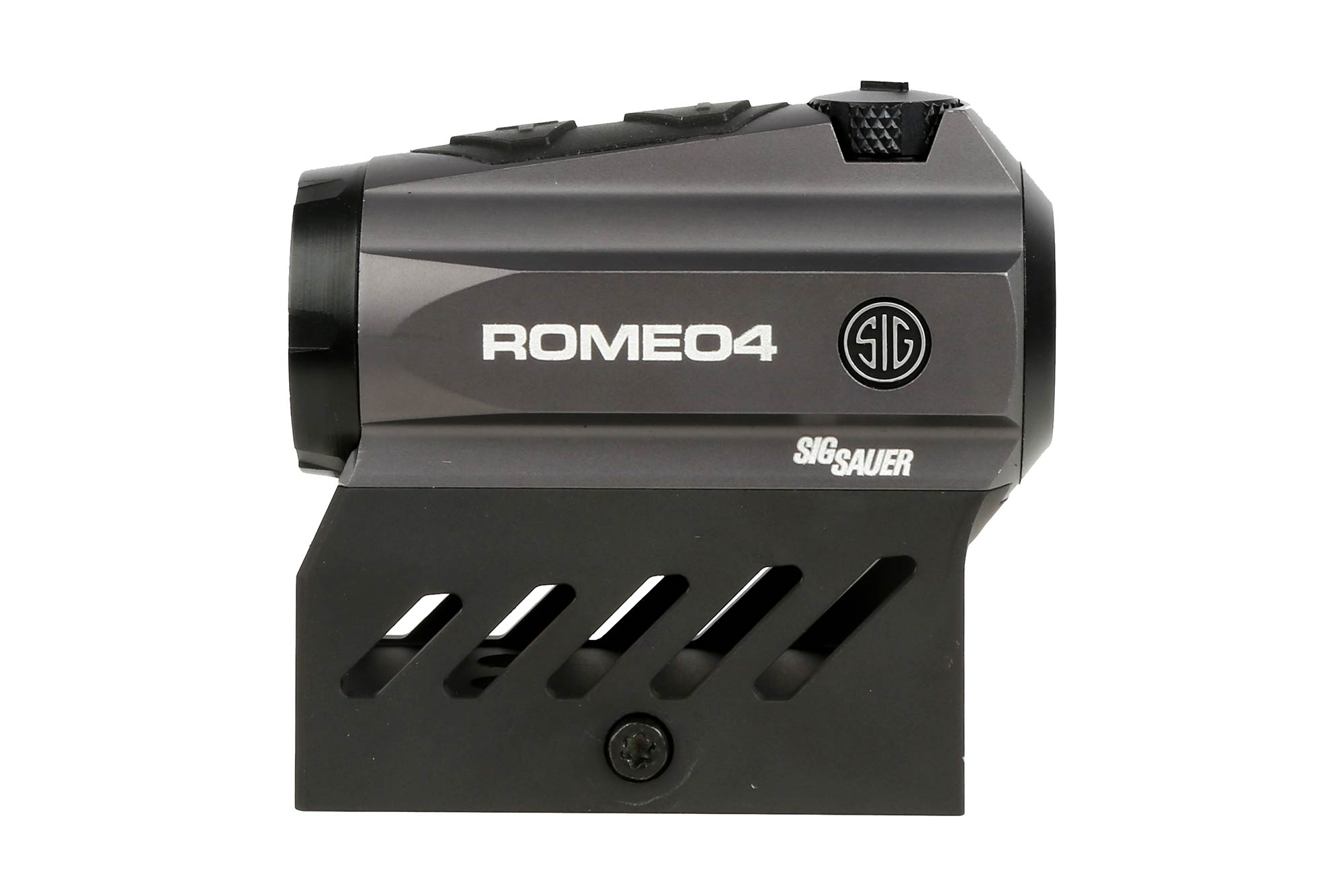Sig Sauer, Romeo 4A, Red Dot Sight, M1913 Rail Interface, Graphite, 2MOA Size Red Dot
