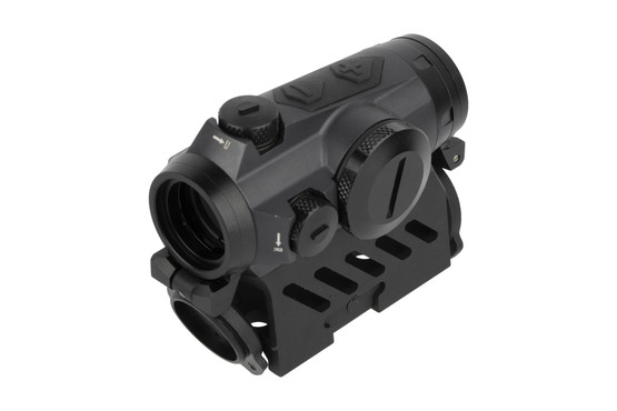 SIG Sauer electro optics Romeo 4M red dot sight with 2 MOA reticle has a 5,000 hour battery life, and knurled turret caps